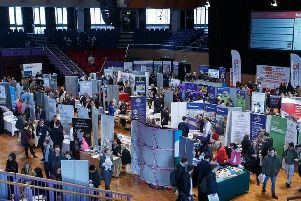 Last year's Shout Expo at Preston Guild Hall.