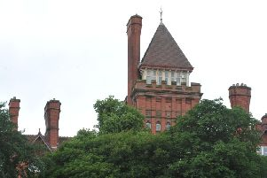 The imposing Park Hotel overlooking Miller and Avenham Parks.