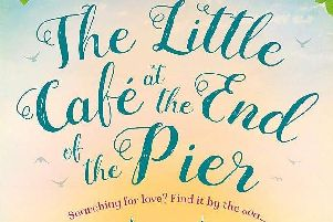 The Little Caf at the End of the Pier by Helen Rolfe