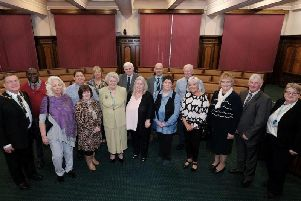 Lancashire foster carers who have looked after children for many years have been honoured with a lunch at County Hall