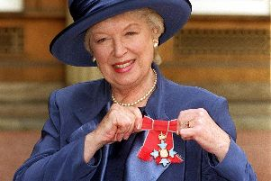 June Whitfield. Picture by Fiona Hanson (PA)