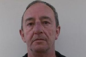 Pictured is John Maiden, 57, of Main Street, Scarcliffe, Chesterfield, who was found guilty of nine counts of indecent assault and was jailed for eight years.