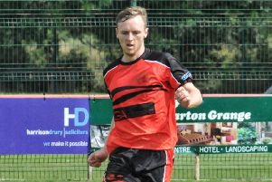 Jonny Hothersall was one of Garstang's goalscorers at Atherton LR last Saturday