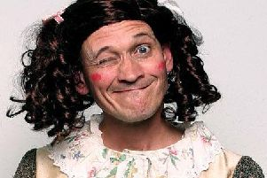 Steve Royle in the role Dane Leno created  - Mother Goose   (photo: Andy Hollingworth)