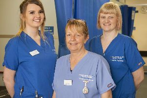 Clinicians at Doncaster Royal Infirmarys Emergency Department