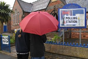 The Polling Station in Marsh Lane, Longton