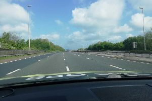 Traffic held at junction 31a of the M6 (Lancs Road Police)
