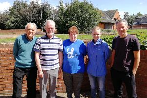 Lancashire Deaf Rights Group (L-R) Ian Funnell, Len Hodson, Ann Spencer, Sarah Button, Mark Heaton