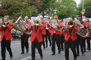 Blackpool Brass Band will play in Clifton Square on Sunday