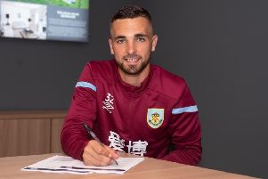 Adam Phillips has joined Burnley