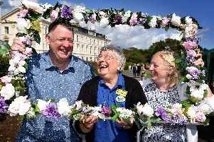Nine photos of the Filey in Bloom Summer Fayre. PIC: Richard Ponter