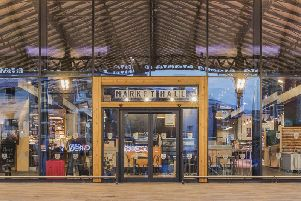 Preston Market Hall where tenants are demanding reduced rents due to a fall-off in business.