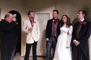 Dewsbury Arts Group is preparing for its first play of the new season ' the classic tale ' Strangers on a Train'.