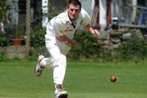 Eight wickets: Streethouse's Scott Bland.