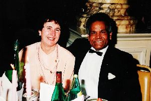 Judith and John Jallal were popular and well known figures in Blackpool