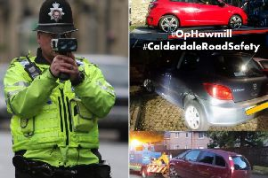 Cars seized as part of Operation Hawmill