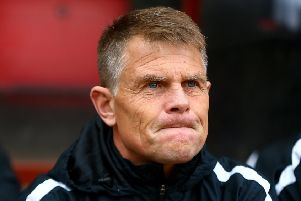 Dover boss Andy Hessenthaler. Photo: Getty Images