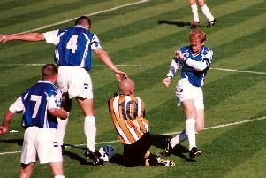 Halifax Town nostalgia: Shaymen in action from September 1998
