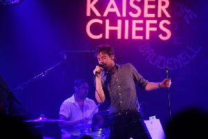 Kaiser Chiefs will be performing in The Piece Hall, Halifax