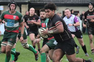 Action from Brods against Keighley