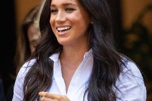 The Duchess of Sussex. Photo by Dominic Lipinski.