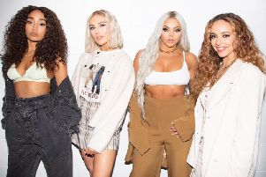 Little Mix. Picture: BBC.