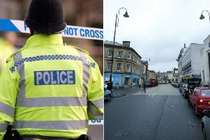 The robbery took place on Waterhouse Street in Halifax town centre