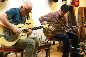 Ace guitarist Robbie McIntosh, who has toured with the likes of Paul McCartney, Norah Jones, and The Pretenders will join renowned blues slide guitarist Michael Messer.
