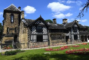Shibden Hall in Halifax - the home of Anne Lister
