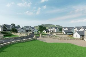 Computer image of the planned development