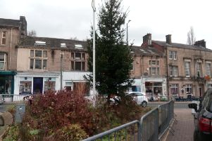 The Christmas tree currently in place at the Peace Garden in Todmorden town centre will be replaced before the November 30 scheduled switch-on of the towns festive lights