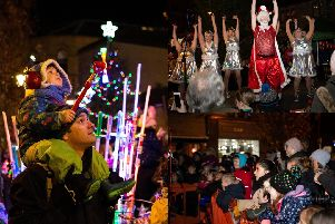 15 festive pictures from Hebden Bridge Christmas Lights Switch On