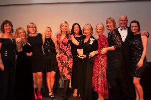 Overgate Hospice won Charity of the Year. Photo by Chris Lord.