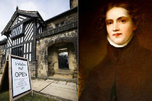 Views of Shibden Hall and Anne Lister