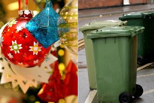 Waste collections over Christmas is a busy period for Calderdale Council
