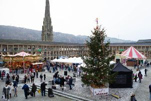 Christmas at The Piece Hall, Halifax