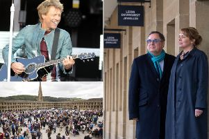 Could Bon Jovi become one of the music acts to perform at the Piece Hall in Halifax