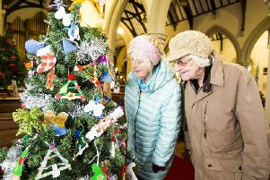 11 festive pictures from Mytholmroyd church's Christmas Tree Festival