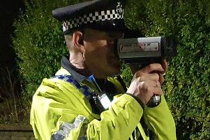 Police patrol carried out by officers in Calderdale