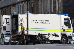 The bomb disposal team has been called to Calderdale