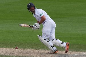 Daryn Smit of Derbyshire. Photo by Mike Hewitt/Getty Images.