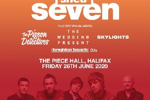 Shed Seven will be heading to Halifax