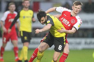 Fleetwood's Callum Connolly impressed his new boss on his debut at Burton