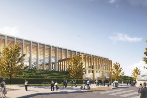 How the airport's new terminal is set to appear