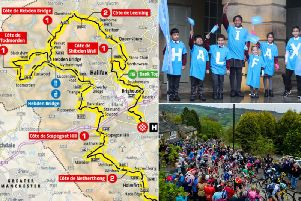 Calderdale will feature in two stages of the Tour de Yorkshire 2020