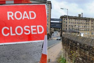 Road closures and gas works are set to begin around Dean Clough