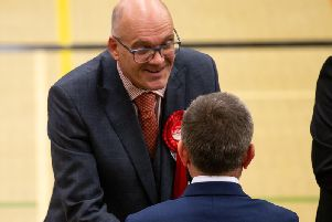 Councillor Mike Barnes, Labour for Skircoat,