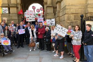 Local Plan protest