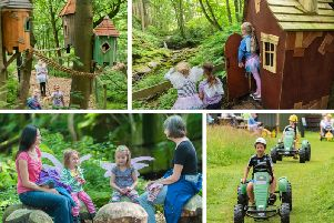 Studfold Adventure Trail has taken inspiration from a locally written fairy tale to create the village of Two Stone Wishes