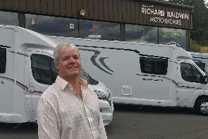 Gary Morgan, Managing Partner or Richard Baldwin Motorhomes